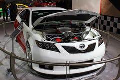Принципиальная схема Toyota Camry стоковые изображения rf