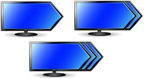 принципиальная схема tv стрелки Стоковое фото RF