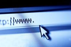 принципиальная схема www Стоковое Изображение RF