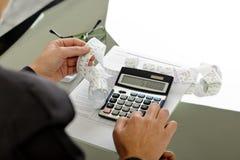 принципиальные схемы финансовохозяйственные Стоковая Фотография RF