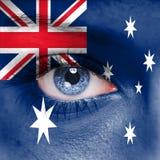 Принципиальная схема Австралии стоковые фото
