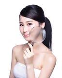 Принципиальная схема внимательности кожи Стоковые Изображения RF