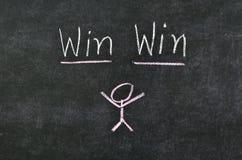 Принципиальная схема выигрыша выигрыша Стоковая Фотография RF