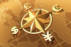 Принципиальная схема денег Стоковая Фотография RF