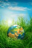 Принципиальная схема - день земли Стоковые Изображения RF