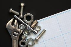 Инструменты работы Стоковое Изображение