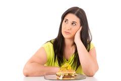 Принципиальная схема диеты Стоковое Фото