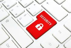 Принципиальная схема имени пользователя интернета безопасностью Стоковое Изображение RF