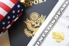 Принципиальная схема иммиграции стоковое изображение rf