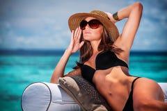Принципиальная схема каникулы лета Стоковые Изображения