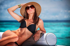 Принципиальная схема каникулы лета Стоковая Фотография RF