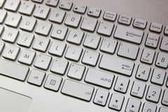 принципиальная схема компьютера входит interrrogation ключевой вопрос о клавиатуры заменяет желтый цвет Стоковое фото RF