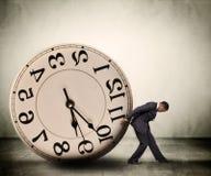Принципиальная схема контроля времени Стоковые Изображения