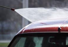 принципиальная схема конца чистоты автомобиля вверх моя Стоковое фото RF