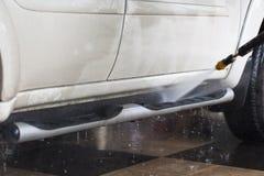 принципиальная схема конца чистоты автомобиля вверх моя Стоковые Изображения RF