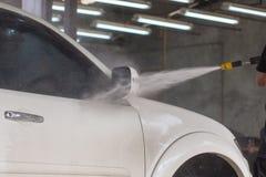 принципиальная схема конца чистоты автомобиля вверх моя Стоковые Фотографии RF
