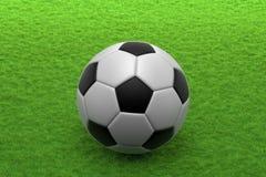 принципиальная схема крупного плана шарика обувает спорт футбола Стоковые Изображения