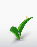 Принципиальная схема метки тикания Стоковое Фото