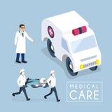 Принципиальная схема медицинского обслуживания Стоковое Изображение RF