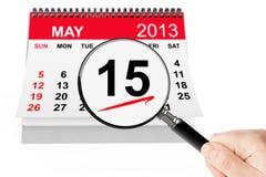 Принципиальная схема дня налога Стоковое Изображение