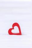 Принципиальная схема дня ` s Валентайн белизна вектора иллюстрации сердца предпосылки красная Стоковые Изображения RF