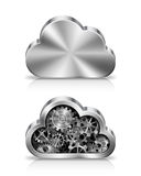 Принципиальная схема облака Стоковое фото RF