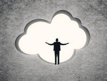 Принципиальная схема облака стоковая фотография