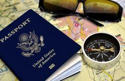 Принципиальная схема перемещения и каникулы Стоковые Фотографии RF