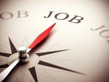 Принципиальная схема поиска работы, консультировать карьеры Стоковое Фото