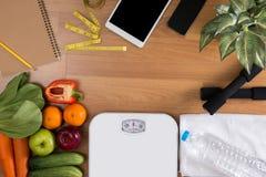 Принципиальная схема потери пригодности и веса Стоковое Изображение