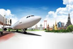 Принципиальная схема предпосылки перемещения Таиланда стоковая фотография