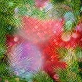 принципиальная схема рождества веселая 10 eps Стоковые Изображения