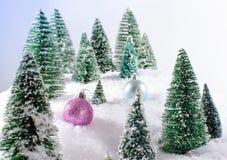 Принципиальная схема рождества Стоковые Фото