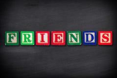 Принципиальная схема друзей Стоковые Изображения RF