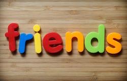 Принципиальная схема друзей Стоковая Фотография RF