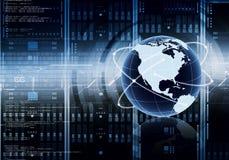 Принципиальная схема сервера интернета Стоковые Фото