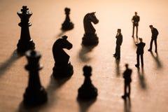 Принципиальная схема стратегии бизнеса Стоковые Фотографии RF