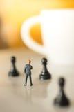 Принципиальная схема стратегии бизнеса Стоковое Фото