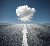 Следовать правым путем Стоковое Изображение