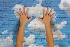 Принципиальная схема технологии облака стоковые изображения rf