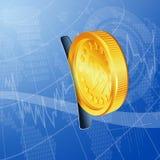 принципиальная схема финансовохозяйственная Стоковые Изображения