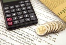 принципиальная схема финансовохозяйственная Стоковое Изображение RF
