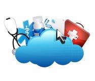 Принципиальная схема хранения медицинская Стоковое Фото