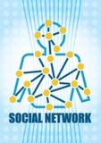 принципиальная схема цифрово произвела высокий social res сети изображения иллюстрация штока