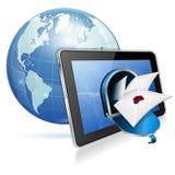 Принципиальная схема электронной почты Стоковое Изображение