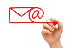 Принципиальная схема электронной почты Стоковые Фото