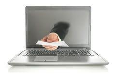Принципиальная схема электронной почты Стоковая Фотография