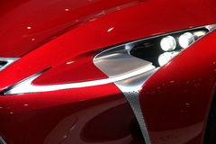Принципиальная схема CIAS 2013 Lexus Стоковая Фотография