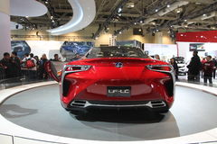 Принципиальная схема CIAS 2013 Lexus Стоковая Фотография RF