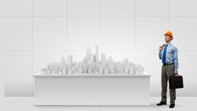 принципиальная схема 3d проектируя максимум представляет разрешение Стоковая Фотография